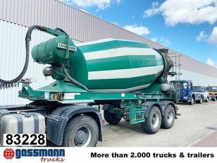 LIEBHERR concrete mixer semi-trailer