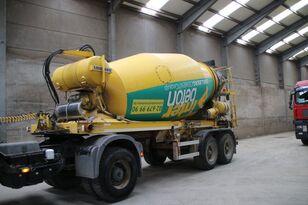 LIEBHERR BETON MIXER HTM 1004 ZA - 10 M³ concrete mixer semi-trailer