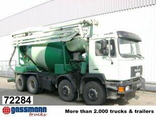 Stetter  on chassis MAN 33.292 8x4 33.292 Mischer  concrete mixer truck