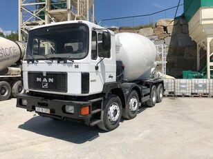 MAN 33.322 concrete mixer truck