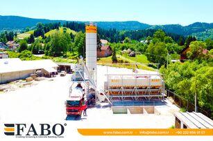 new FABO FABOMIX COMPACT-110 NEW GENERATION CONCRETE PLANT concrete plant