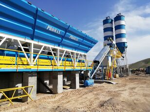 new PROMAX Compact Concrete Batching Plant C100-TWN-LINE (100m3/h) concrete plant