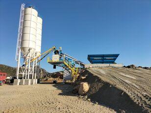new PROMAX Mobile Concrete Batching Plant PROMAX M60-SNG(60m³/h) concrete plant