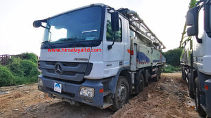 Zoomlion 52m X-6RZ on chassis MERCEDES-BENZ 4141 8X4 concrete pump