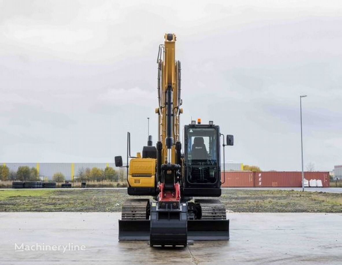 new SANY SY 135C tracked excavator