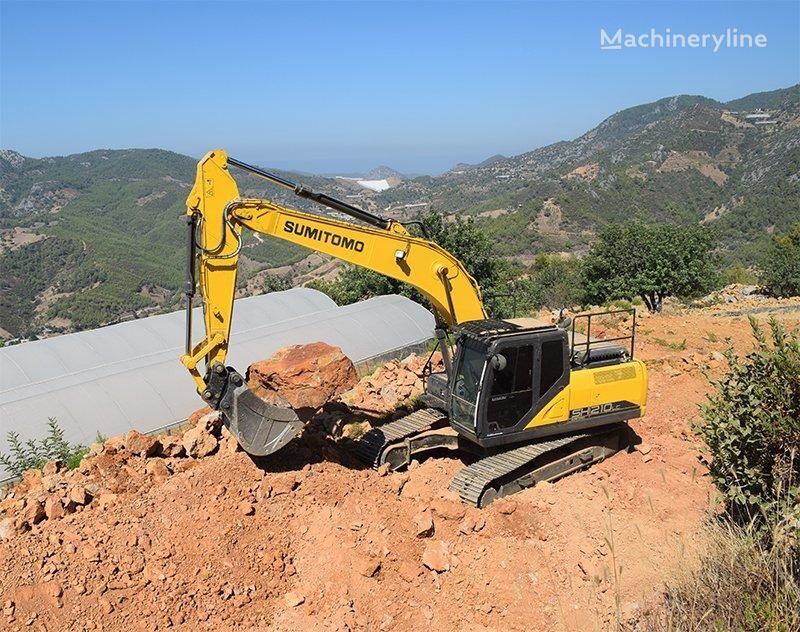 new SUMITOMO SH210LC-6  TSM GLOBAL tracked excavator