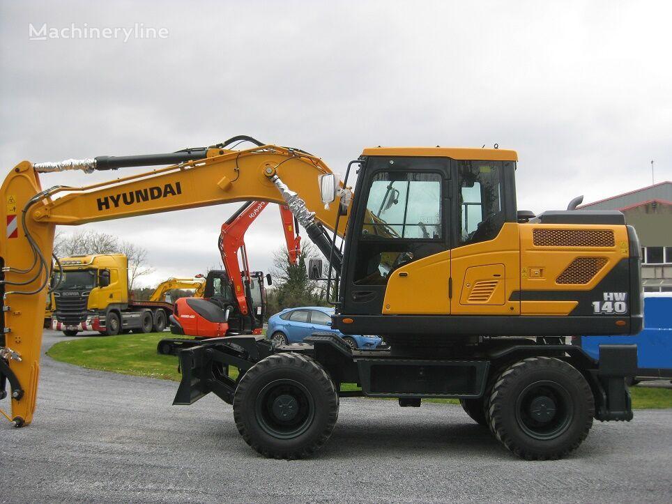 new HYUNDAI HW140 wheel excavator