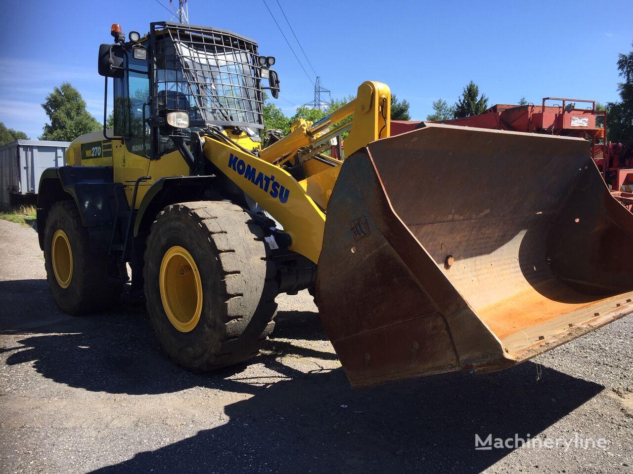KOMATSU WA 270 -7 wheel loader