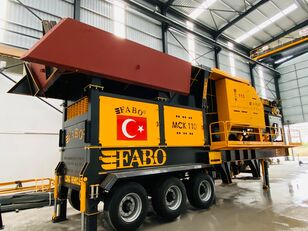 new FABO MCK-110 MOBILE CRUSHING & SCREENING PLANT | JAW+SECONDARY crushing plant