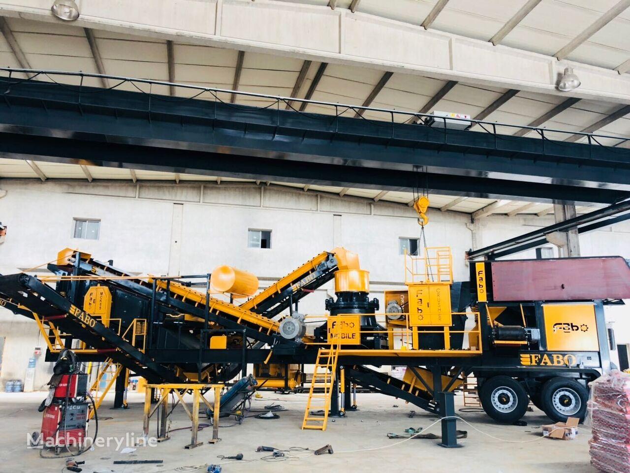new FABO MCK-65 MOBILE CRUSHING & SCREENING PLANT FOR GRANIT  mobile crushing plant