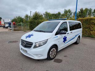 MERCEDES-BENZ VITO 163 CV - 2018 - 204 000 KM - AUTOMATIC ambulance