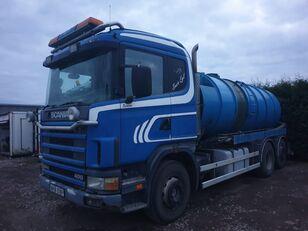 SCANIA 124L400 6x2 14m3 Vacuum vacuum truck